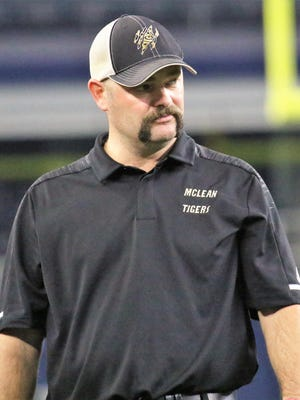 McLean's Clint Linman, who went 39-3 and reached two Class 1A Division I state title games with an undefeated state championship in 2018, will be the new head football coach at Miami this fall.