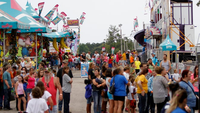 This year's Ozark Empire Fair started Thursday, July 29, and will run through Aug. 7.  (News-Leader file photo 2014)