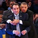 Duke coach Mike Krzyzewski through the years