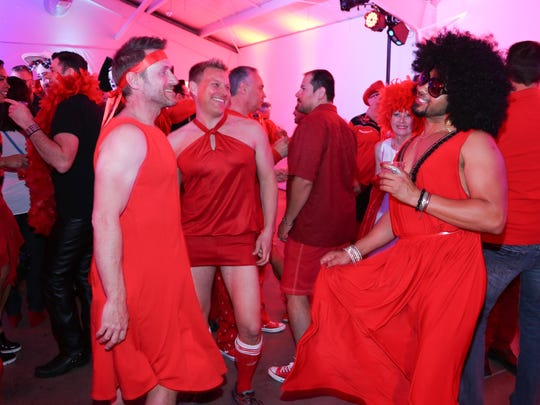 "The annual Red Dress/Dress Red Party is just one event that falls under The Center's ""Just Plain Fun"" category of programming."