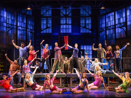 """""""Kinky Boots,"""" now playing at the Playhouse on Rodney Square, is a Tony Award-winning play made from a movie."""
