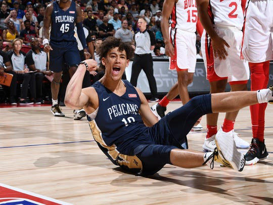 2019 Las Vegas Summer League - New Orleans Pelicans v Chicago Bulls