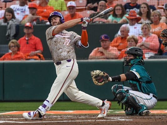 Clemson Coastal Carolina baseball