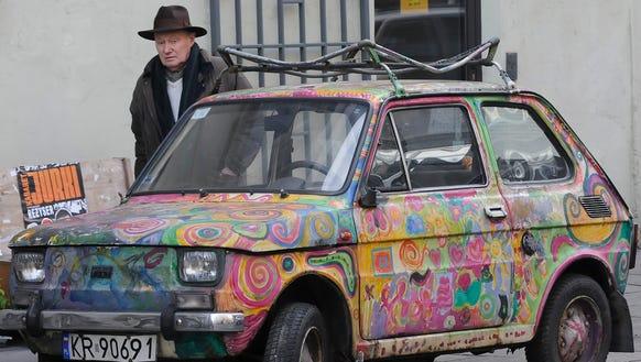 Polish economy car meets Krakow's creativity.