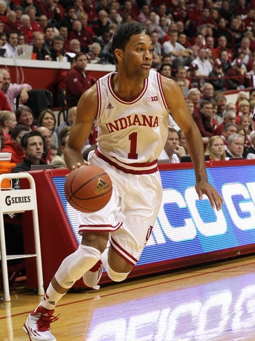 Indiana guard James Blackmon Jr. scored 26 points in