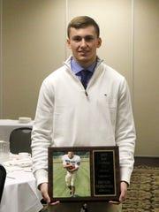 Corning's Devon Sullivan was one of four winners of the Joel Stephens 5C Award on Thursday.