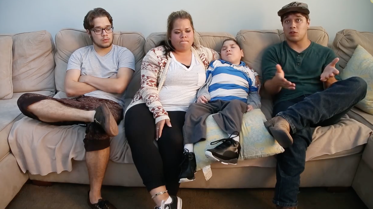 Hannah, Matthew, Michael and Brandon talk about their lives today. Cheryl Evans/azcentral