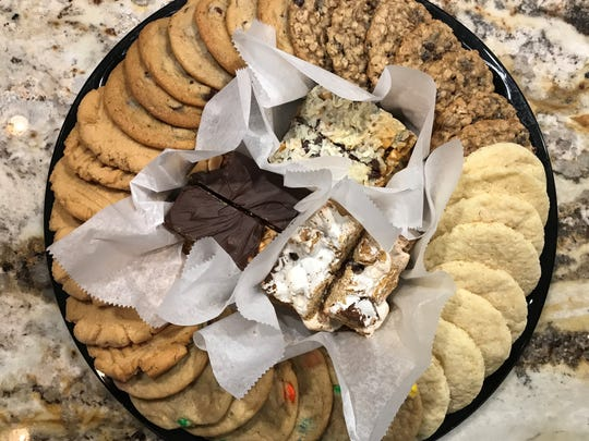 A selection of handmade cookies from Cookie Brokers Bakery on Grand Avenue in central Phoenix.