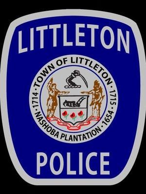 Badge of the Littleton police.