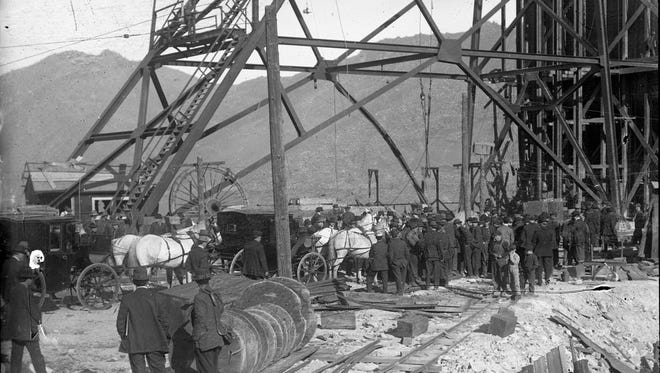 The Speculator Mine in Butte was site of one of the most dramatic tragedies in Montana history, a century ago in June.