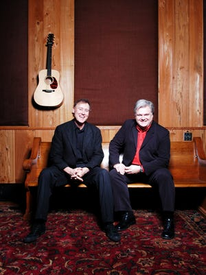 Bruce Hornsby and Ricky Skaggs team up for a show at Pisgah Brewing Co. June 21