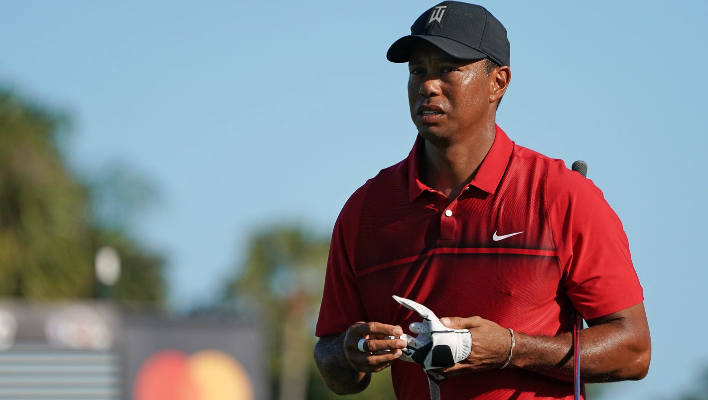 Tiger Woods brings added attention to Valspar Championship