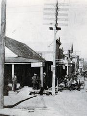 Ealer's Corner in 1900