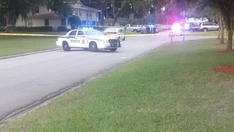 Scene of reported stabbing in Green Cove Springs.