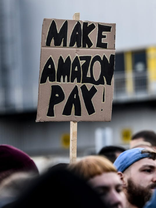 EPA GERMANY LABOR AMAZON STRIKE LAB STRIKE DEU