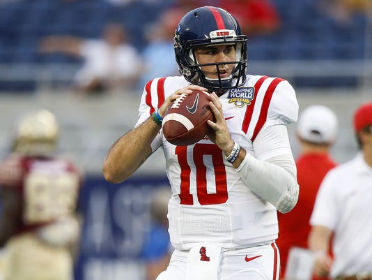 official photos 21bba 05f15 Mike Mayock: No combine not hurting Ole Miss' Chad Kelly
