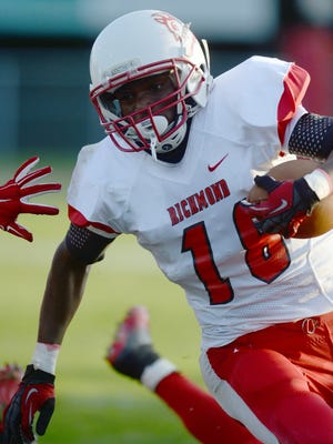 Richmond's Brendan Hegg is one of five recently graduated Red Devils who will play football at the NCAA Division III level.
