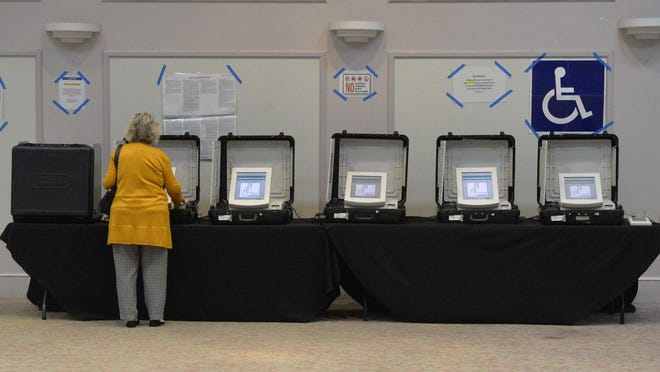 Voting at the Jewish Education Alliance was steady according to poll officials.