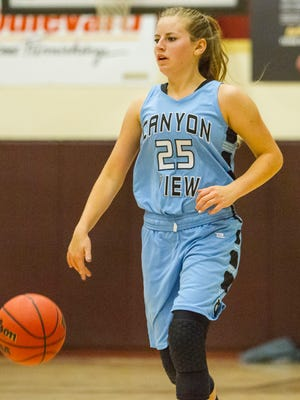High School Girls Basketball: Canyon View at Cedar, Tuesday, Nov. 29, 2016, at Cedar High School. Cedar defeated Canyon View 51-26.
