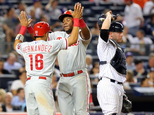 MLB: Philadelphia Phillies at New York Yankees