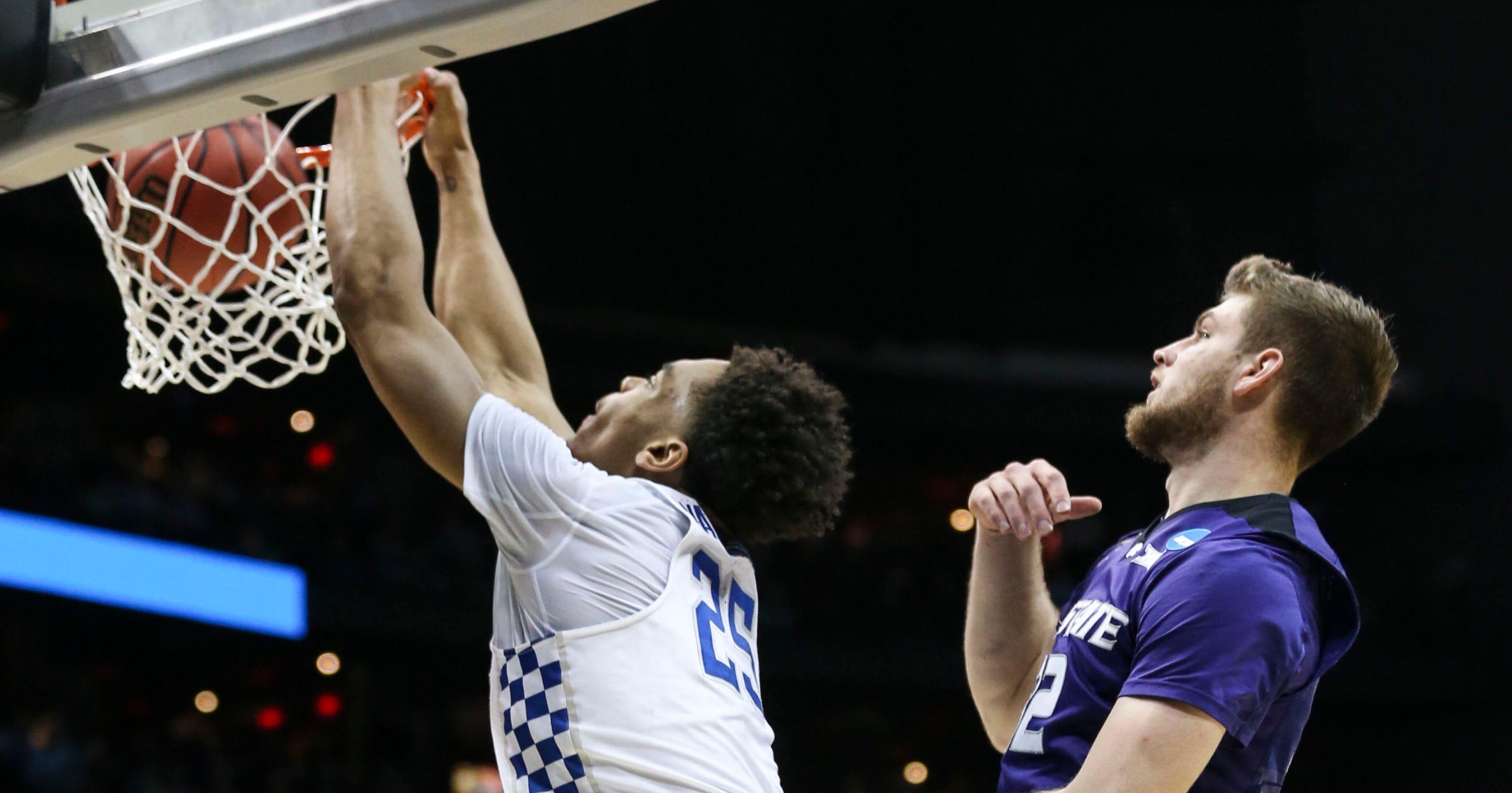 2c7ec03e495e UK basketball falls to Kansas State in the NCAA Tournament Sweet 16