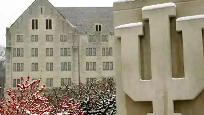 IU campus.