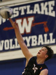 Westlake's Troy Magorien earned MVP honors for the