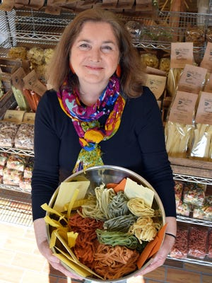 Cyndi Connolly started selling her Dalla Terra pastas in 2009.
