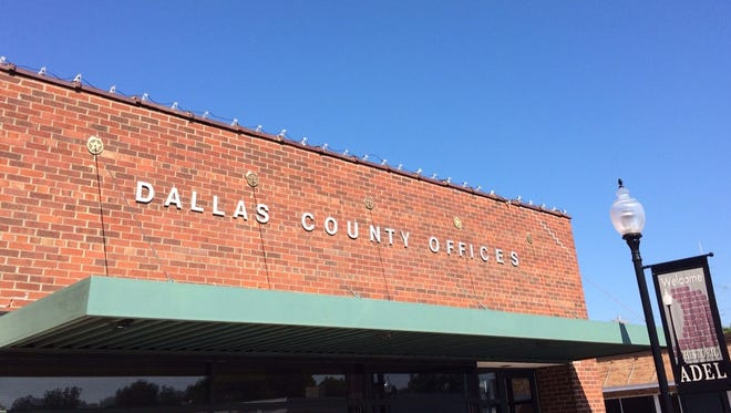 Several Dallas County office buildings are located on the square in downtown Adel.