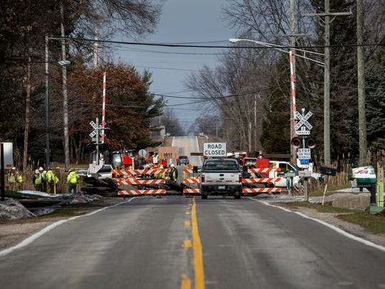 Allen Road in Kimball Township will be closed to through