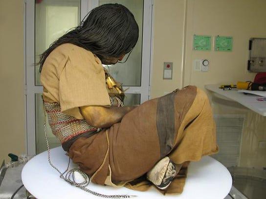 Researcher Helps Unwrap Mystery Of 3 Incan Children