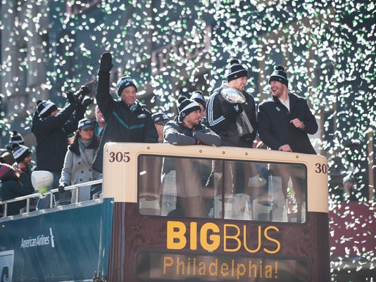 Eagles Super Bowl parade