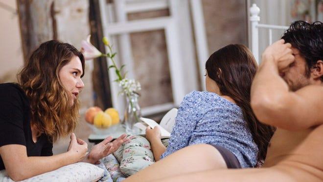 Erika Lust, left, is the creator of erotic short films site XConfessions.