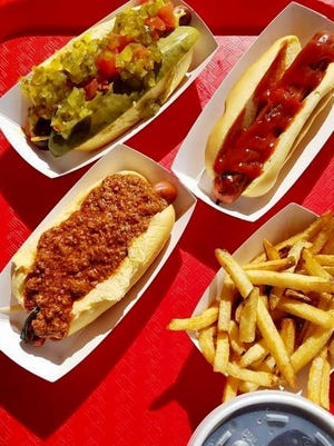 Matt's Red Hots serves Sahlen's brand hot dogs and other Buffalo-style classics.
