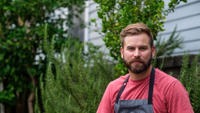 Cory Bahr is a Monroe chef who encourages local eating and specializes in Southern fare.