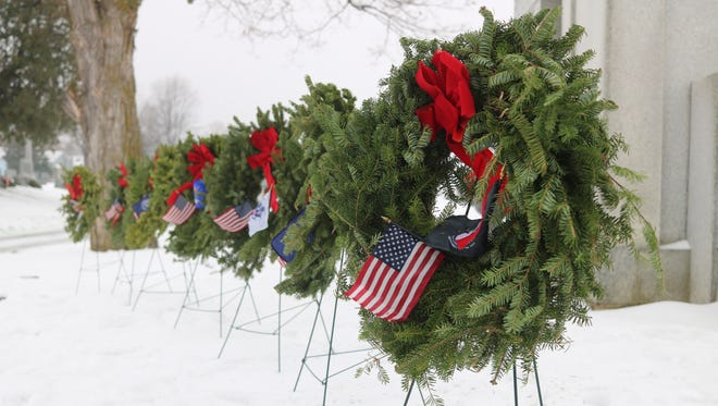 The Ottawa County Wreath Committee, along with many volunteers, will be placing more than 2,300 wreaths at veterans' final resting places at Riverview Cemetery in Port Clinton and Catawba Island Township Cemetery.