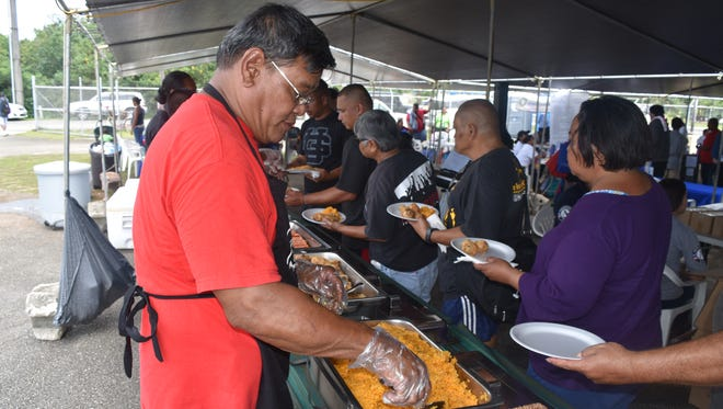 The Guam Homeless Coalition's Passport to Services at the Hagåtña Community Center is shown in this April 28 file photo.