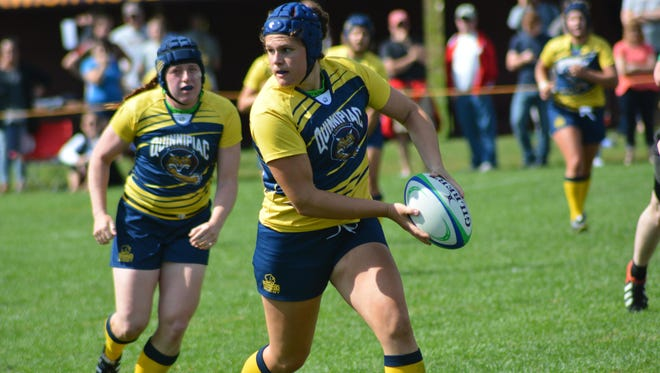 Quinnipiac's Illona Maher, a Burlington native, was named the nation's top women's rugby player.