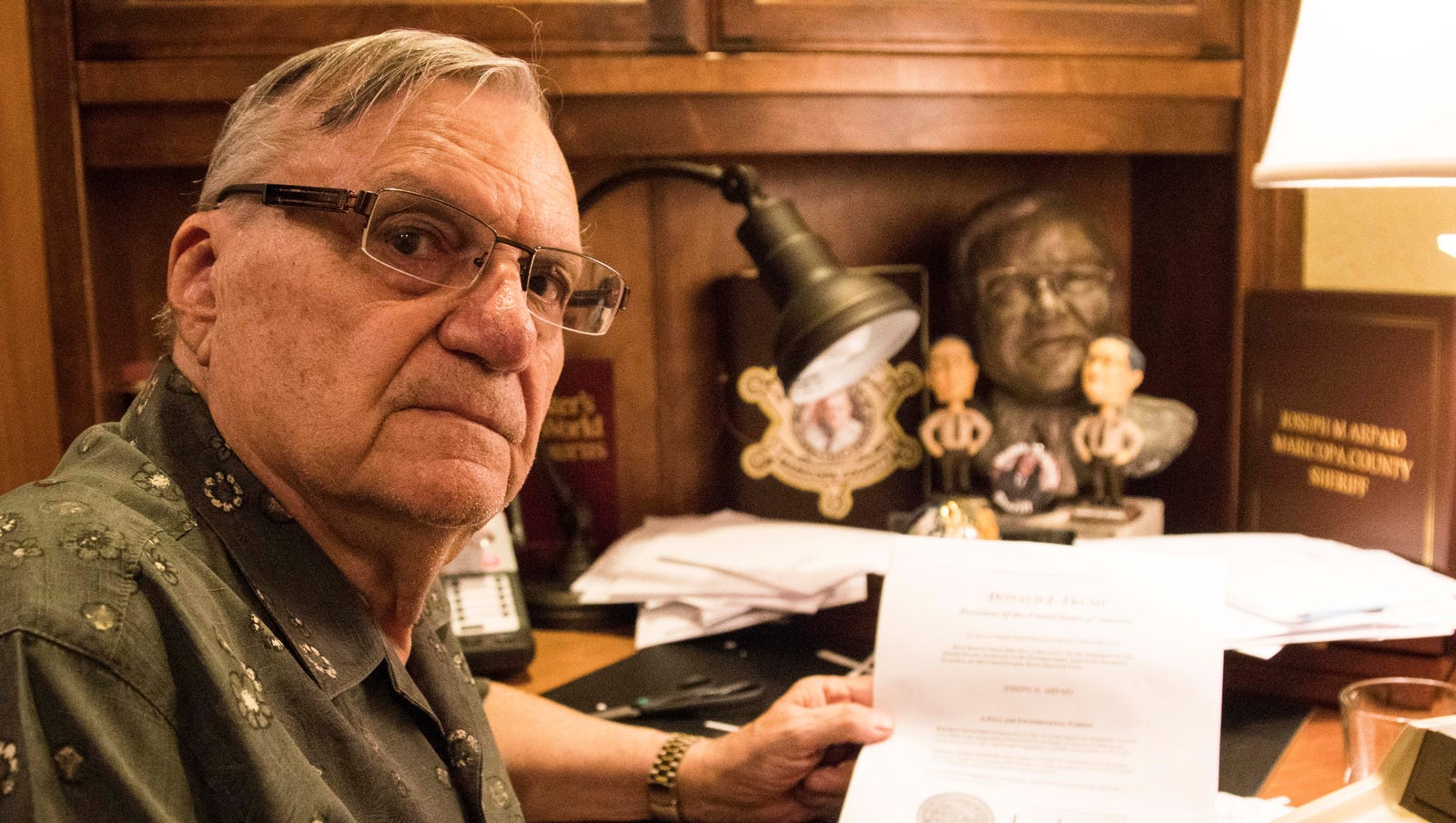 Can Trump's pardon of Joe Arpaio be overturned? Ruben Gallego, Raul Grijalva are trying