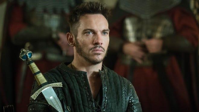 Bishop Heahmund (Jonathan Rhys Meyers) on 'Vikings.'