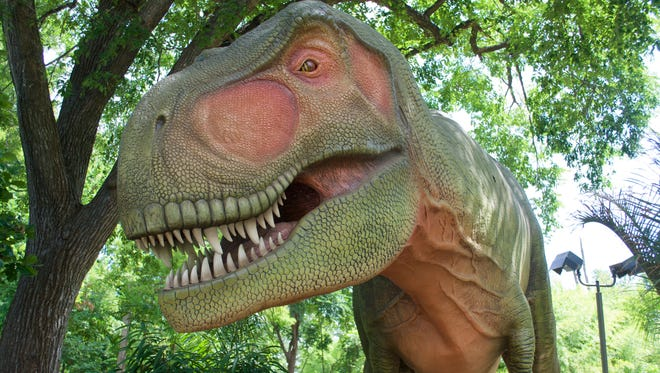 """""""Dinosaurs! A Jurassic Journey"""" brings dinosaurs back to the Milwaukee County Zoo for an extended stay."""