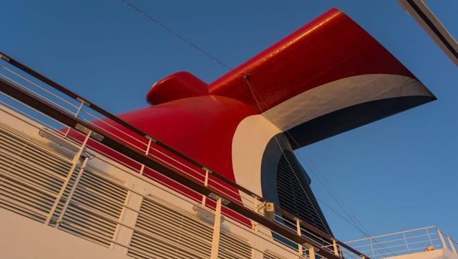 Carnival Cruise Line's new Carnival Horizon ship.