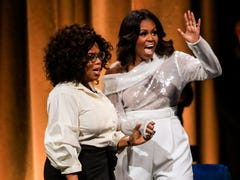 5 poignant moments from Michelle Obama's 'Becoming' book tour launch with Oprah