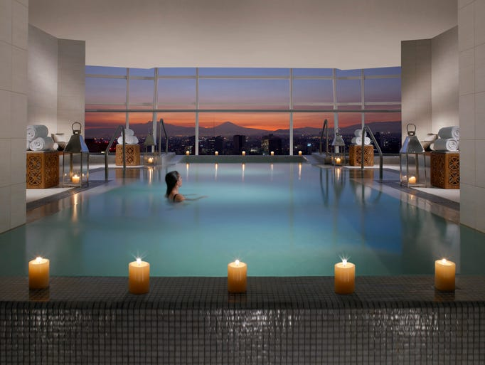 50 beautiful indoor hotel pools