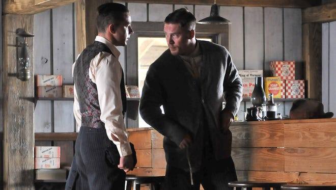 """Shia LaBeouf and Tom Hardy appear in a scene from """"Lawless."""""""