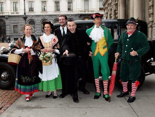 Arturo Brachetti Attends The Carnevale Ambrosiano Photocall In Milan