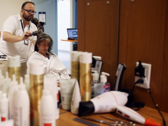 How players keep their hair on point at u s open for Beauty salon usa
