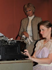 """Eileen Adams plays Amanda and Sarah Gantzer is Laura in the Zane Trace Players Production of """"The Glass Menagerie."""""""