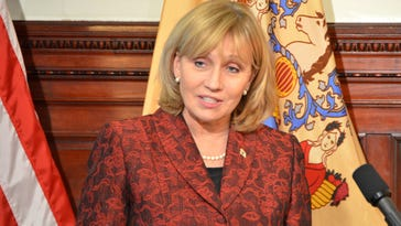 Lt.  Governor Kim Guadagno attends the New Jersey Catastrophic Illness in Children Event in Trenton in December 2015. (Governor's Office)