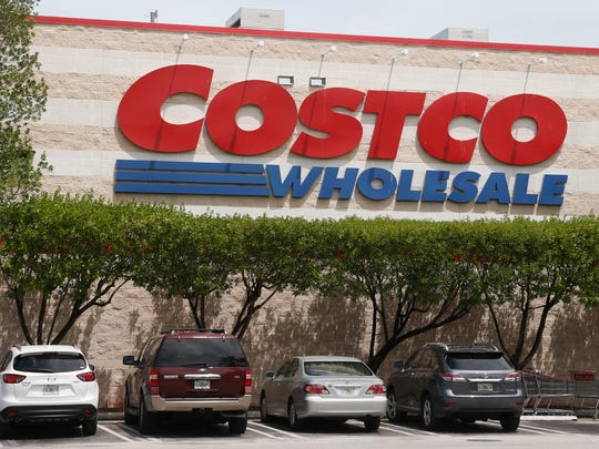 This Wednesday, Aug. 17, 2016, file photo, shows a Costco store in North Miami Beach. (AP Photo/Wilfredo Lee, File)